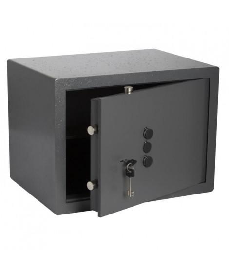 BRICARD Coffre-fort a clé + Boutons 36 x 40 x 30 cm a poser - 24 kg - 19,7 L