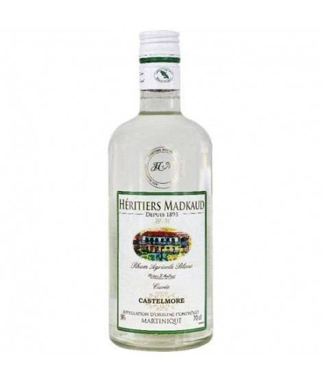 Heritiers Madkaud - Rhum blanc - 50%vol - 70cl